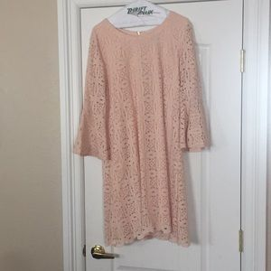 Lovely bell sleeve dress